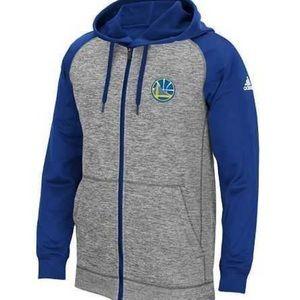 Adidas Golden State Warriors Men's Zip Up Hoodie